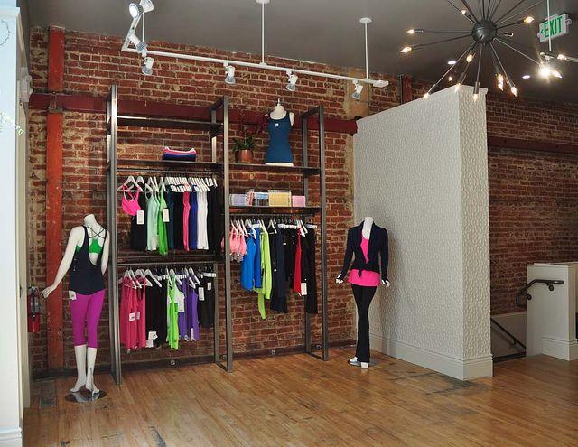 Bar Method 1 Studio Inspiration Retail Shelving Yoga