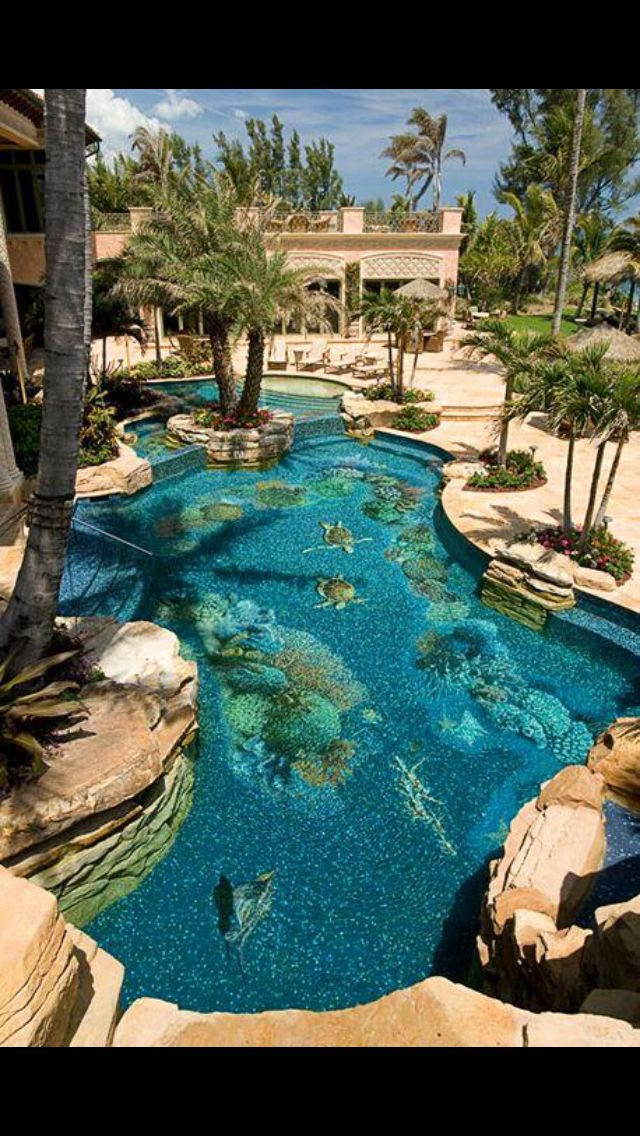 Aquarium pool find local home design educators and for Pool design education