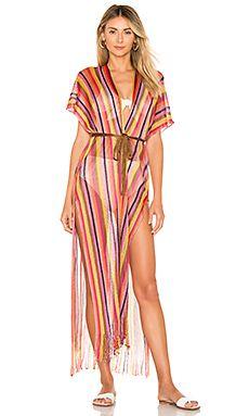8c03c10d23196 El Moro Fringe Kimono Luli Fama $154 BEST SELLER | _IR COVERUPS in ...