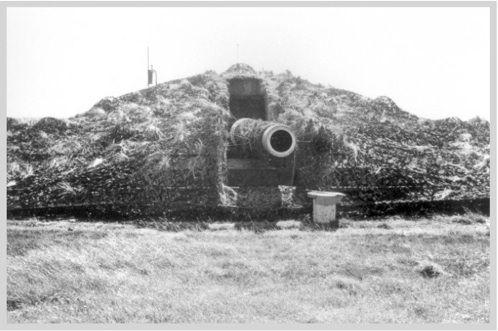 Artillerie cotiere lourde allemande - Hanstholm au Danemark