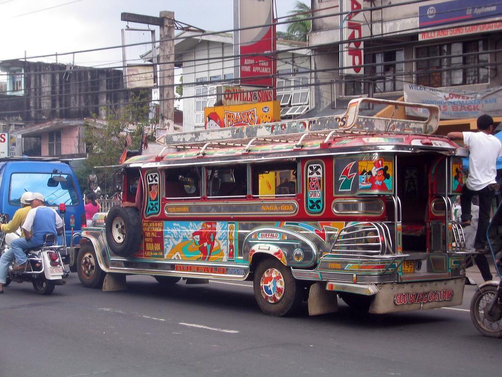 Jeepney (king of the road) public transportation.
