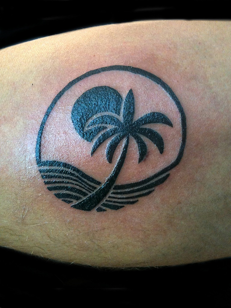 Ocean Tattoos Ocean And Palm Tree Maria Acevedo Tattoos Fine Art Miami Tattoo Beachy Tattoos Tree Tattoo Designs,Christina Home Designs Furniture