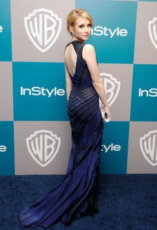Emma Roberts - Zac Posen (back)