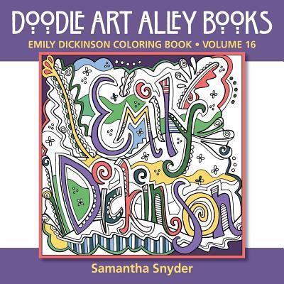 Emily Dickinson Coloring Book Walmart Com In 2021 Coloring Books Doodle Art Dickinson
