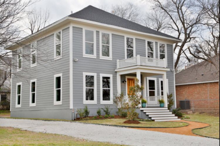 Modern Colonial Home Fixer Upper Magnolia Fixer Upper House Exterior