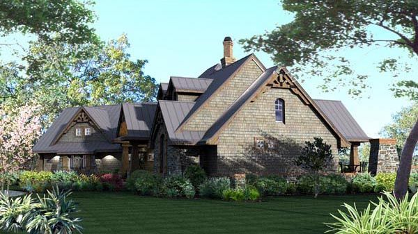 House Plan Tuscan Style with 2106 Sq Ft