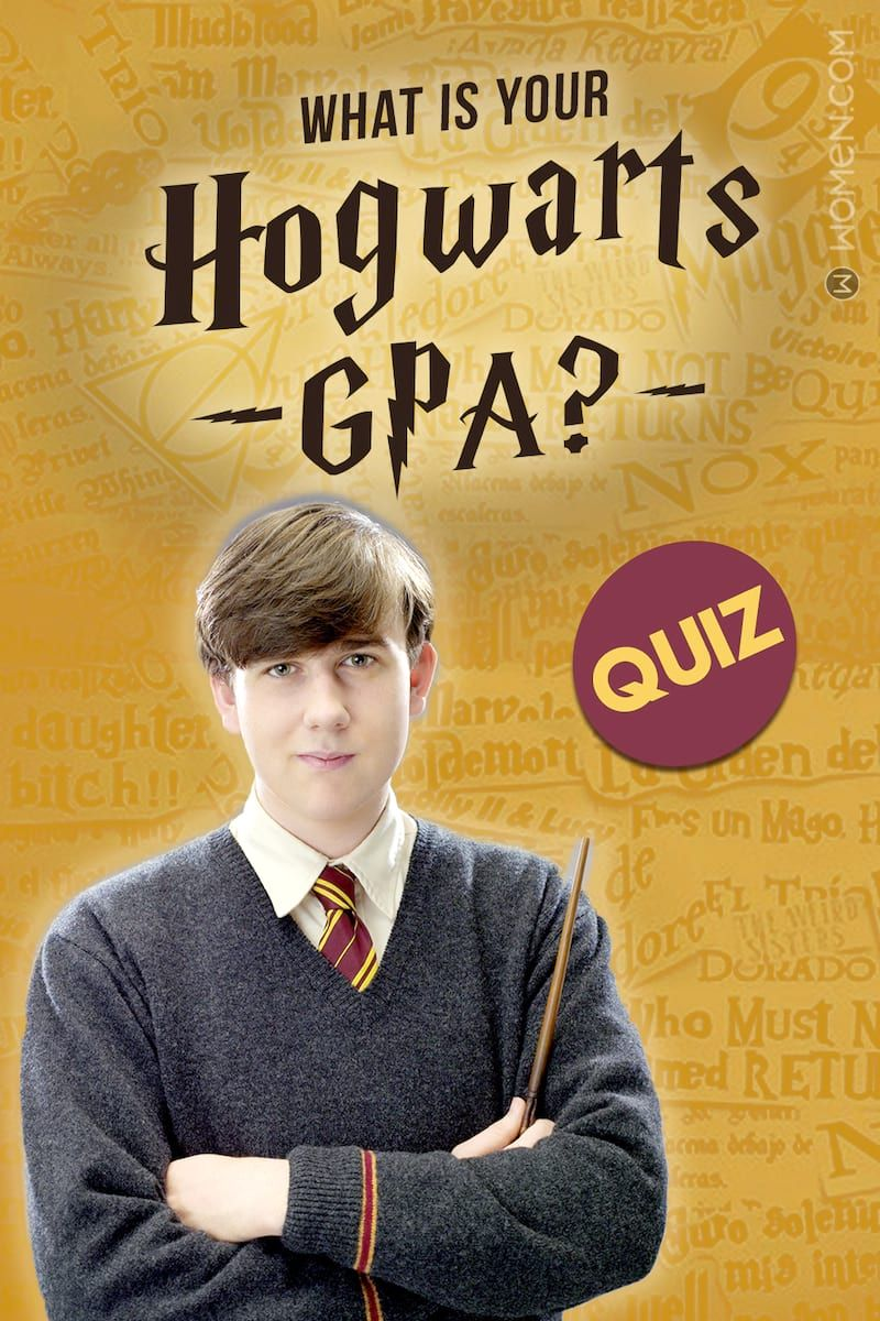 Harry Potter Quiz What Is Your Hogwarts GPA? in 2020