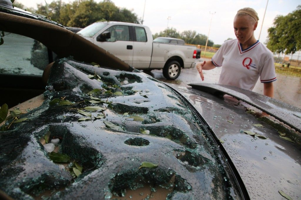 Dallas Hailstorm Insured Losses Could Reach 2 Billion Hail Storm Natural Disasters Nature