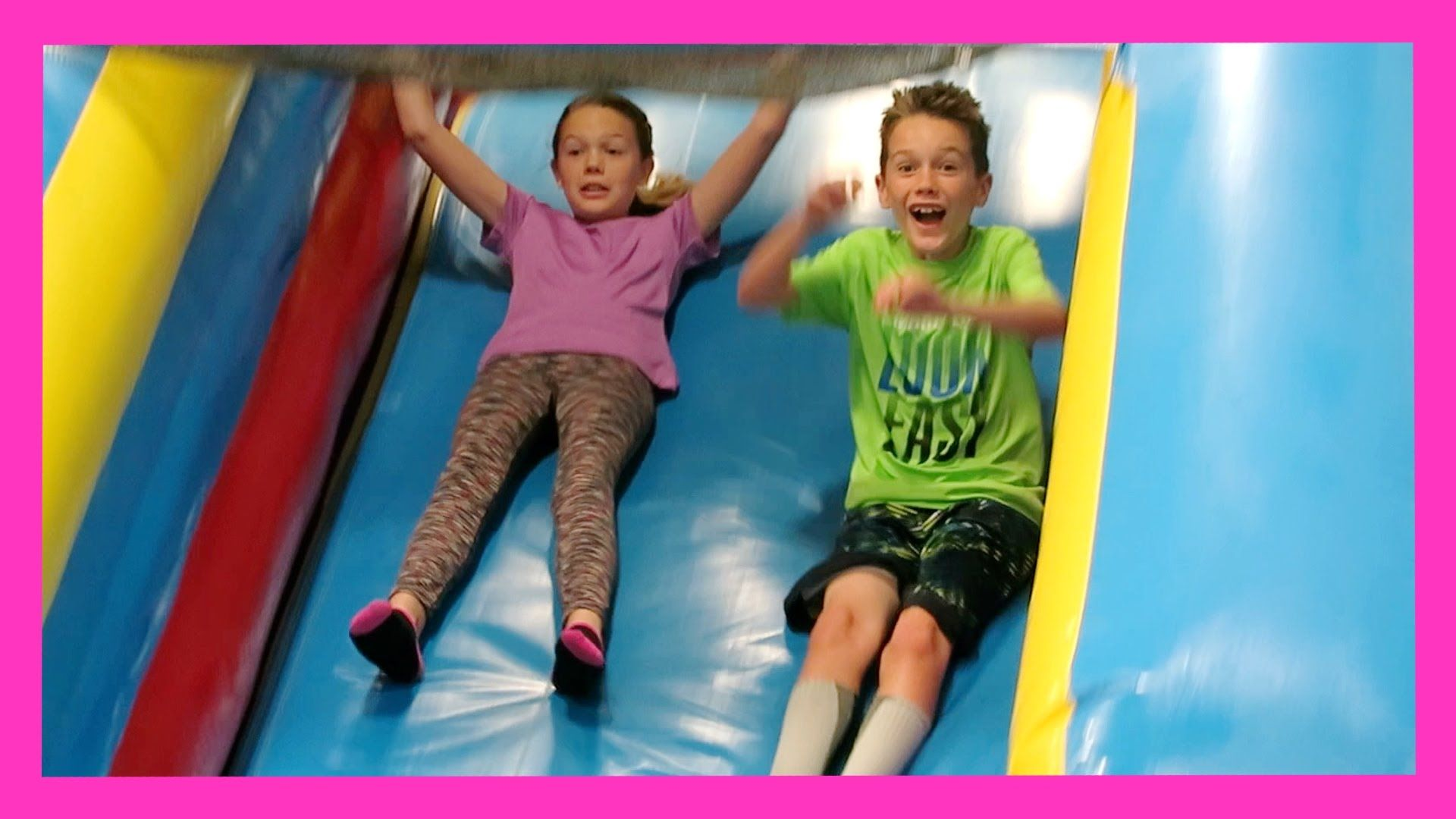 PUMP IT UP BIRTHDAY PARTY (Day 1532)