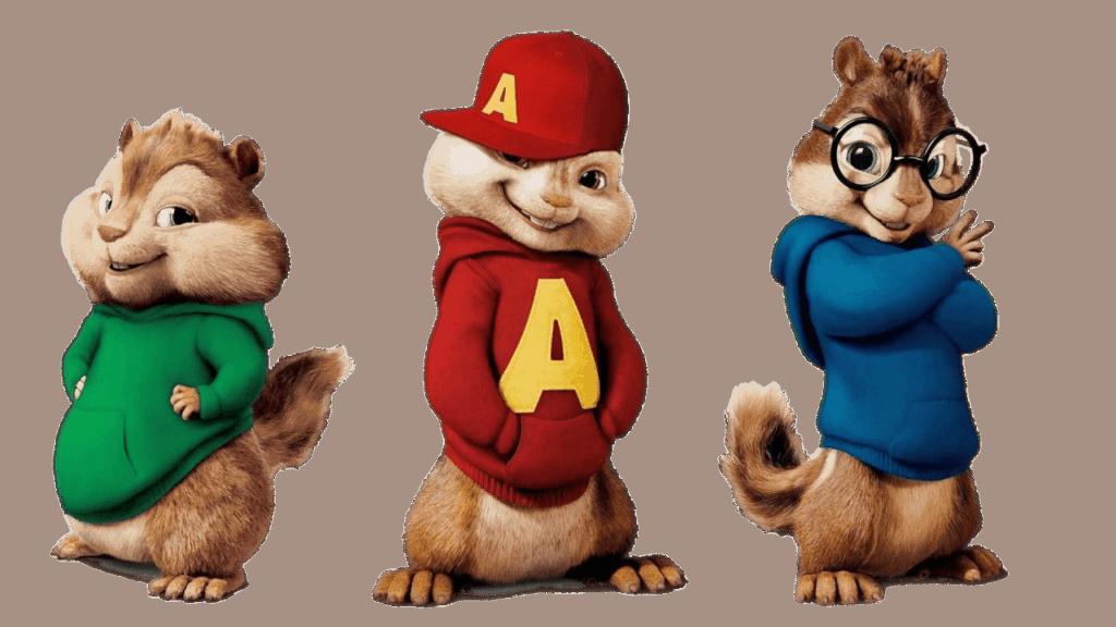 Alvin And The Chipmunks Trio Alvin And The Chipmunks Chipmunks Alvin
