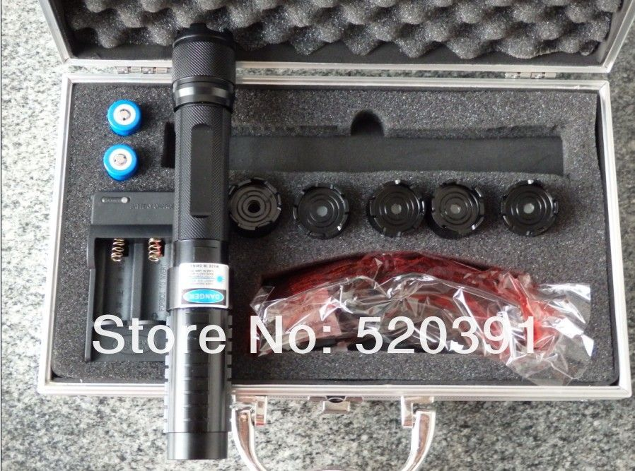 High Power Blue Laser Pointers 500000mw 500w 450nm Flashlight Lazer