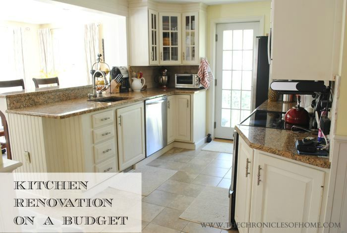 Budget Kitchen Renovation Budgeting, Kitchens and Small kitchen