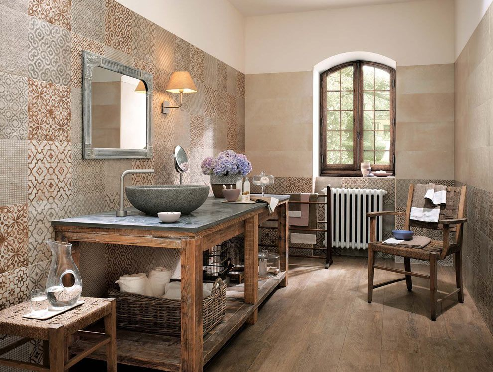 Piastrelle per bagno creta idee particolari cuarto de baño