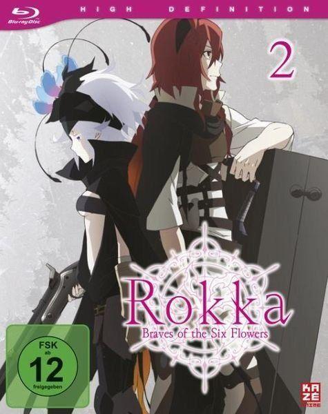 Blu-ray »Rokka: Braves of the Six Flowers Vol. 2« #bluray
