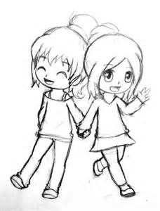 Best Friend Drawings That Are Easy To Draw Drawings Of Friends Friends Sketch Best Friend Drawings