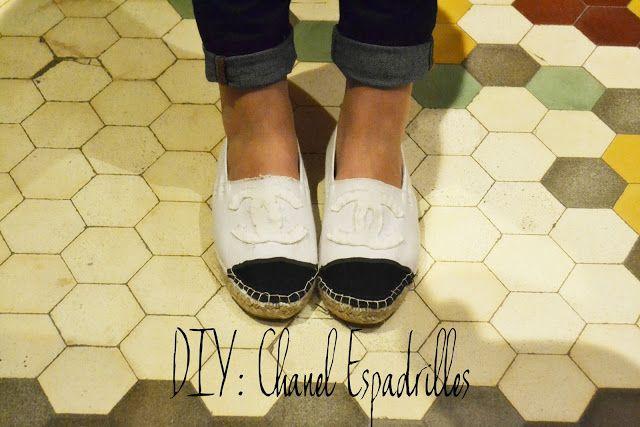 DIY: Chanel Espadrilles
