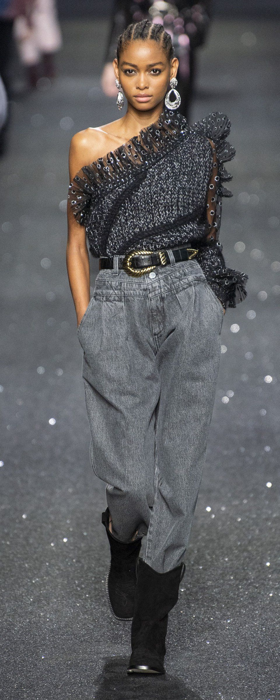 Fall Fashion With Jeans Dress 2020, Ideas, Picture Alberta Ferretti Fall winter 2019 2020   Ready to Wear in 2019