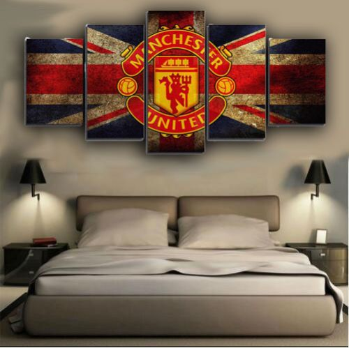 Manchester United Bedroom Wall Art