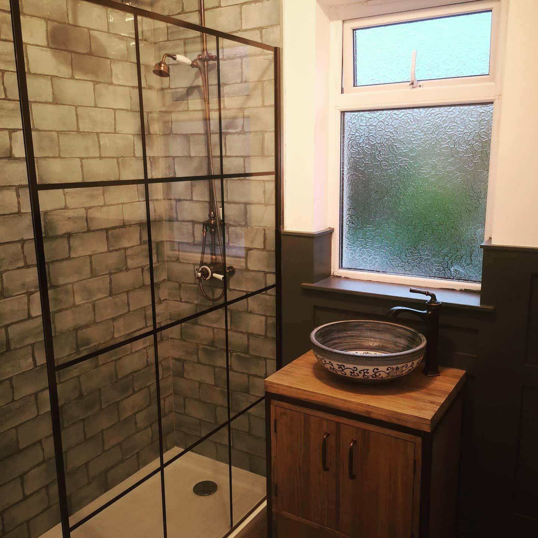 Industrial vanity unit #vanityunit #bathroomfurniture #interiordesign #industrialdesign #homedecore #home #furniture