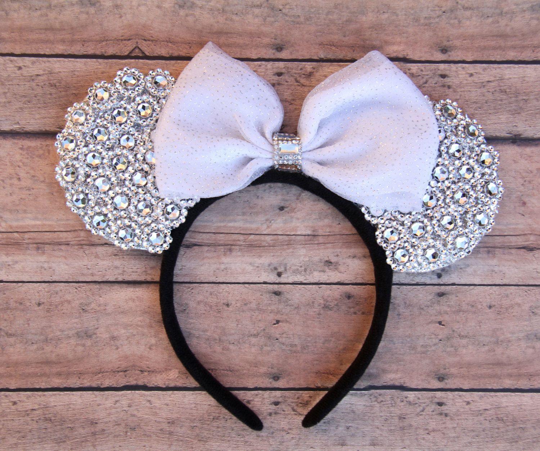 Wedding Mickey Ears 34930217c91