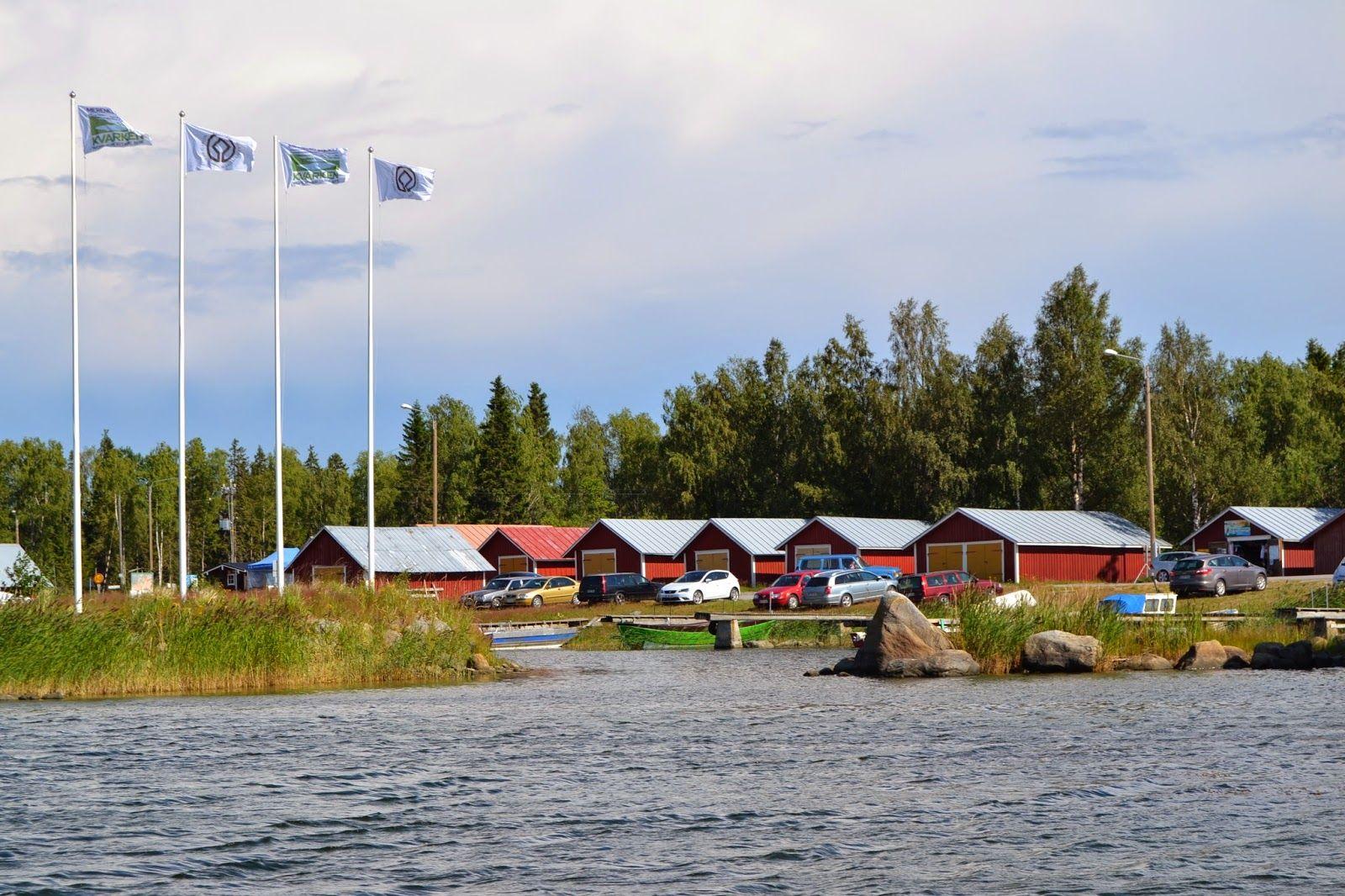 Harbour in Björköby, Vaasa, Finland