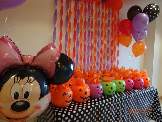 Halloween Party Birthday Party Ideas Photo 7 Of 16 Birthday Halloween Party Disney Halloween Parties Mickey Halloween Party