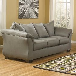 Signature Design By Ashley Madeline Pad Arm Upholstered Loveseat