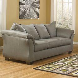 Signature Design By Ashley Madeline Fabric Pad Arm Sofa Sofa