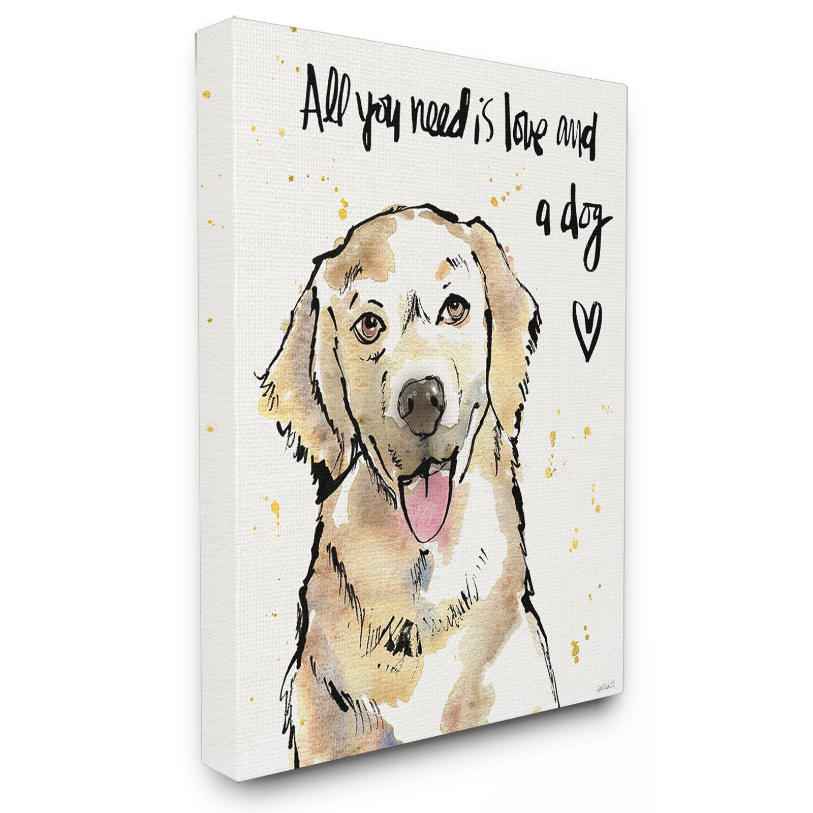 Pin By Suzanne Lyttle On Cheyenne And Samsons Board Dog Wall Art Stretched Canvas Wall Art Wall Canvas