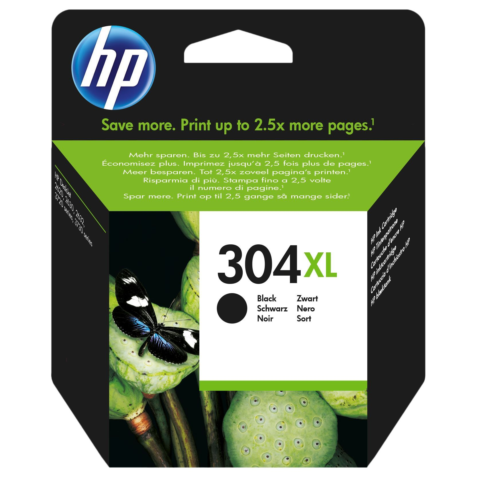 Hp 304 Xl Black Ink Cartridge Products In 2019 Magenta Ink
