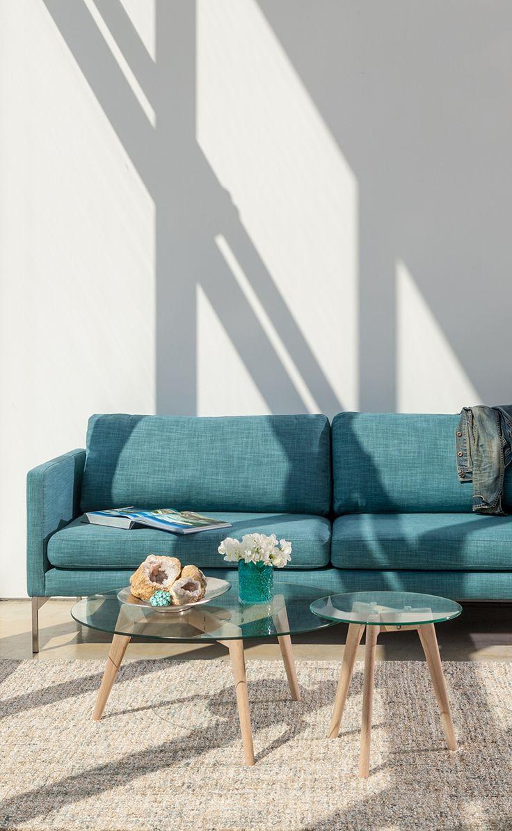 Best Echo Blue Spruce Sofa Mid Century Modern Sofa Sofa 400 x 300