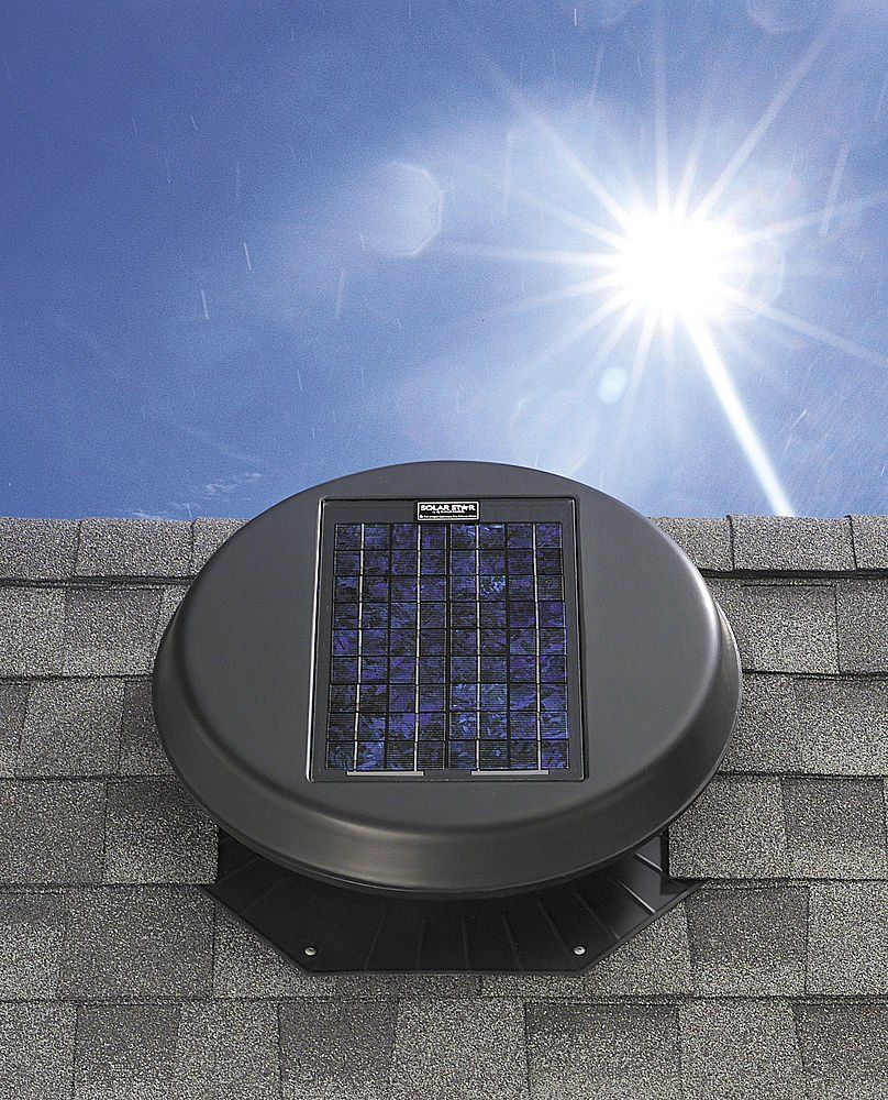 Solar Powered Attic Fan Solar Powered Attic Fan Solar Attic Fan