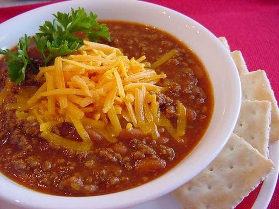 Easy Mild Chili Recipe Food Com Recipe Mild Chili Recipe Easy Mild Chili Recipe Recipes