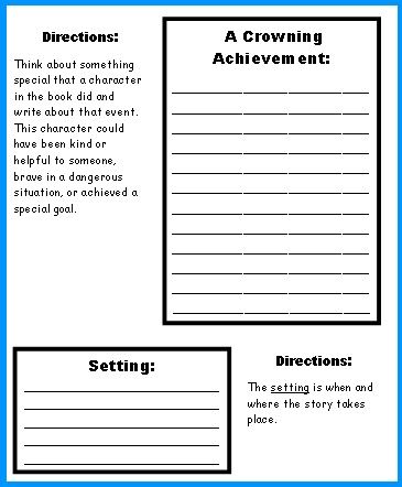 Grade   Back To School Creative Writing Ideas and Worksheets