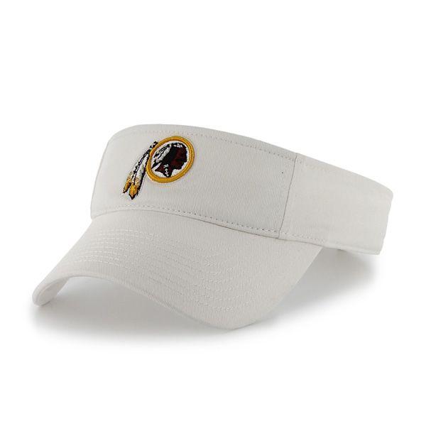 Washington Redskins Clean Up Visor White 47 Brand Adjustable Hat ... b436c99a0