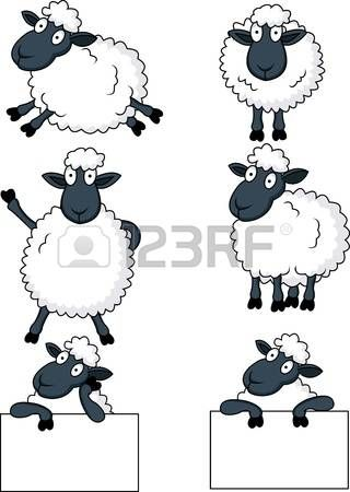 ovelha: sheep cartoon | Tattoos | Pinterest | Oveja y Dibujo