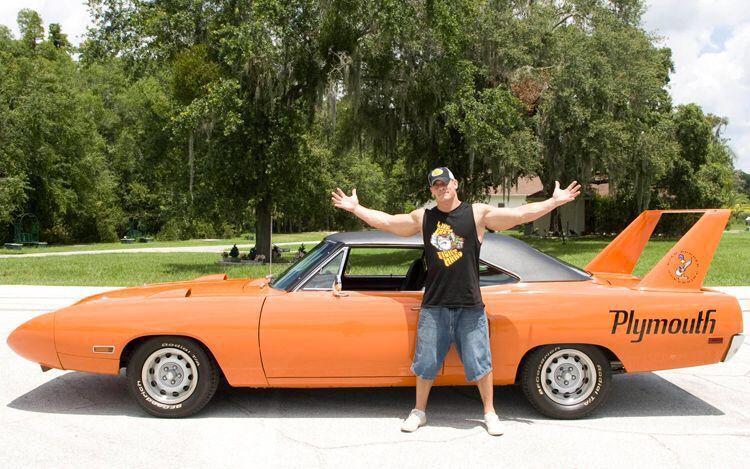 John Cena S Superbird John Cena Wwe Superstar John Cena Car