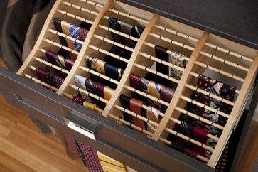 The Closet Works, Inc. Contemporary Closet   Rod Storage For Ties Or  Scarves. U201c
