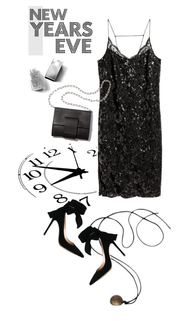 """""""Twinkle toes"""" by missbeaheyvin ❤ liked on Polyvore featuring Swarovski, H&M, Gianvito Rossi, MM6 Maison Margiela, Burberry, polyvoreeditorial, danceparty and NewYearsEve"""