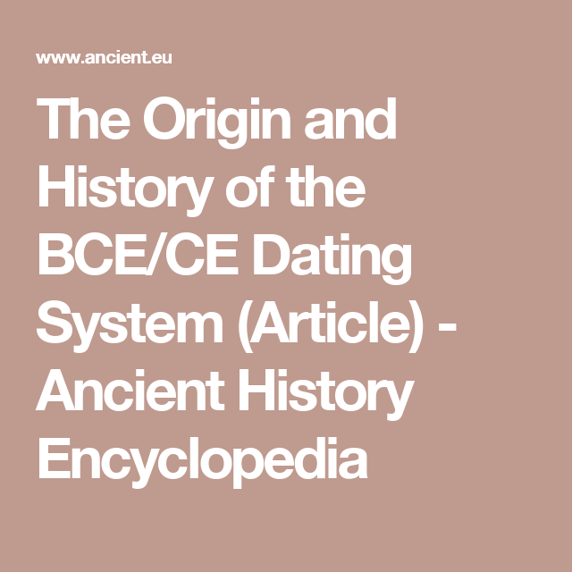 Ake historical dating bce chan