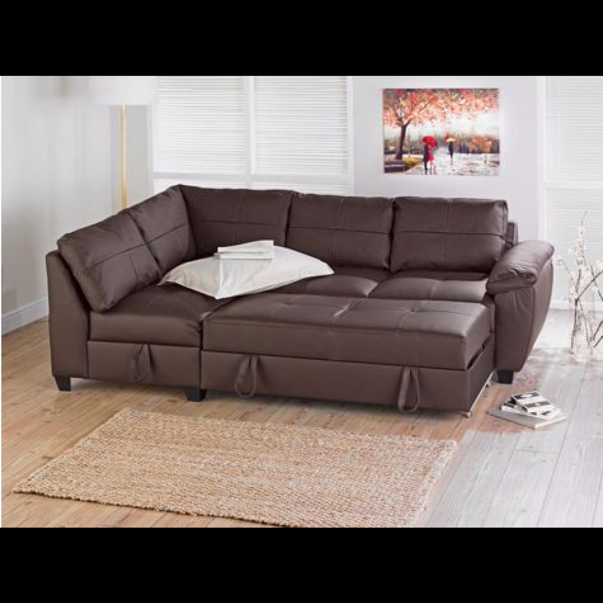 Corner Group Sofa Bed With Storage