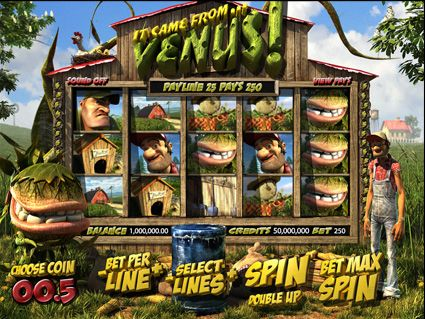 Relax With No Download It Came From Venus Slots