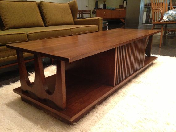 Broyhill Brasilia Style Coffee Table By Midcenturyville On Etsy,