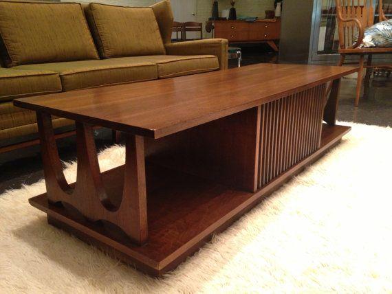 Remarkable Broyhill Brasilia Style Coffee Table By Midcenturyville On Uwap Interior Chair Design Uwaporg