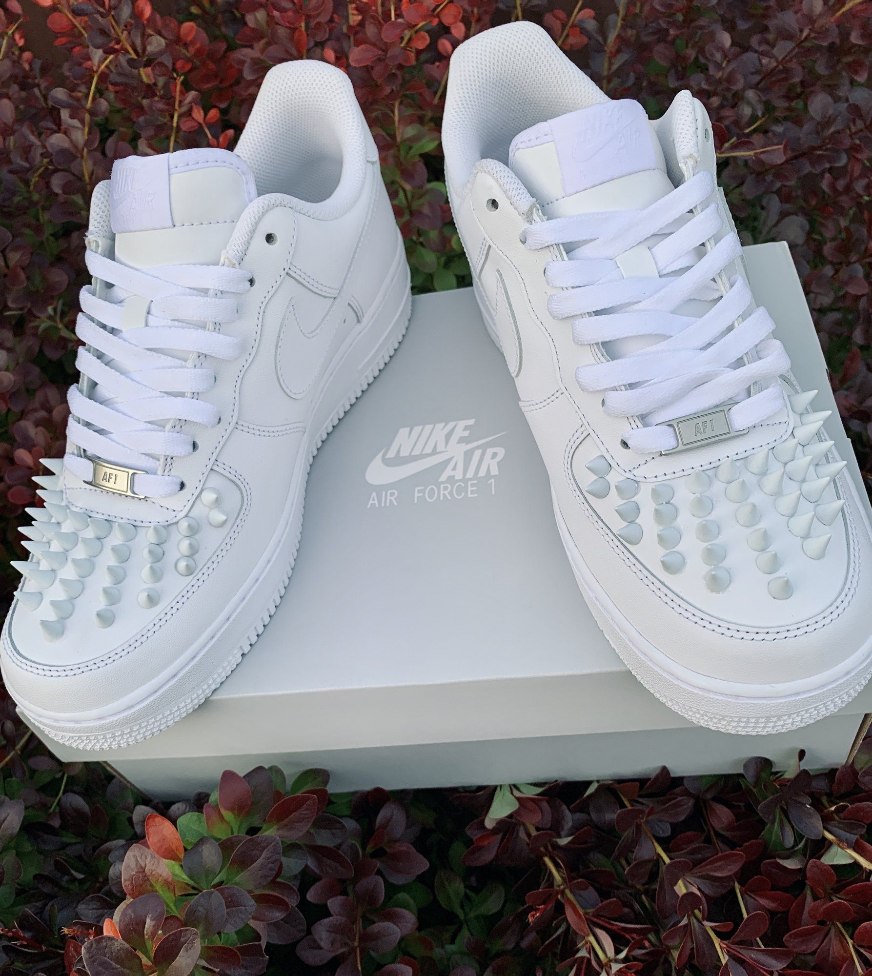 Burberry AF1s Shadow White in 2020 Hype shoes, Christian