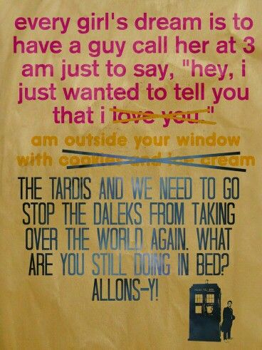 Oh yes please!!! Doctor who funny, Funny dating quotes
