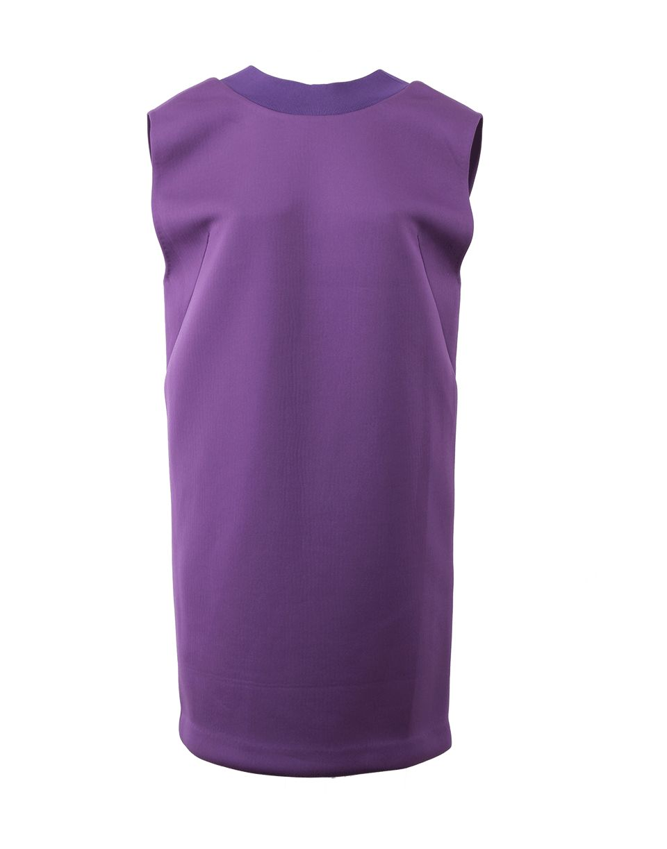 3.1 Phillip Lim Ribbed Deep Vback Dress in Purple (TANZANIT) | Lyst