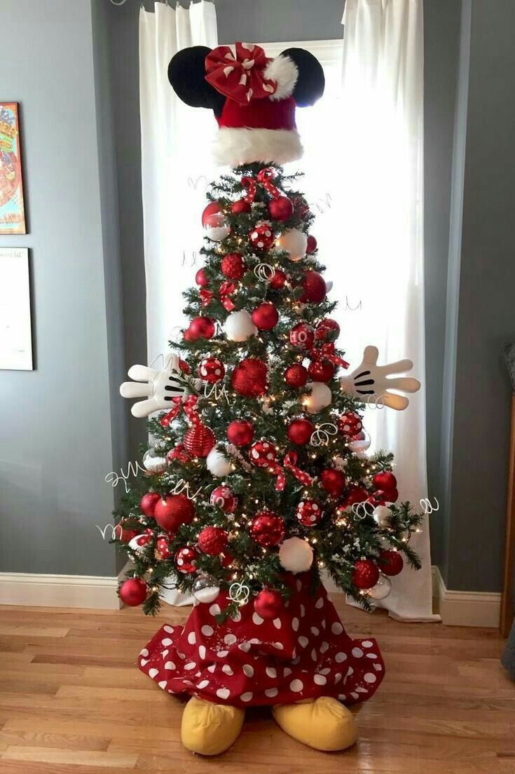 Pin by jeannie loy on oh Xmas tree | Creative christmas trees, Cool christmas trees, Mickey ...