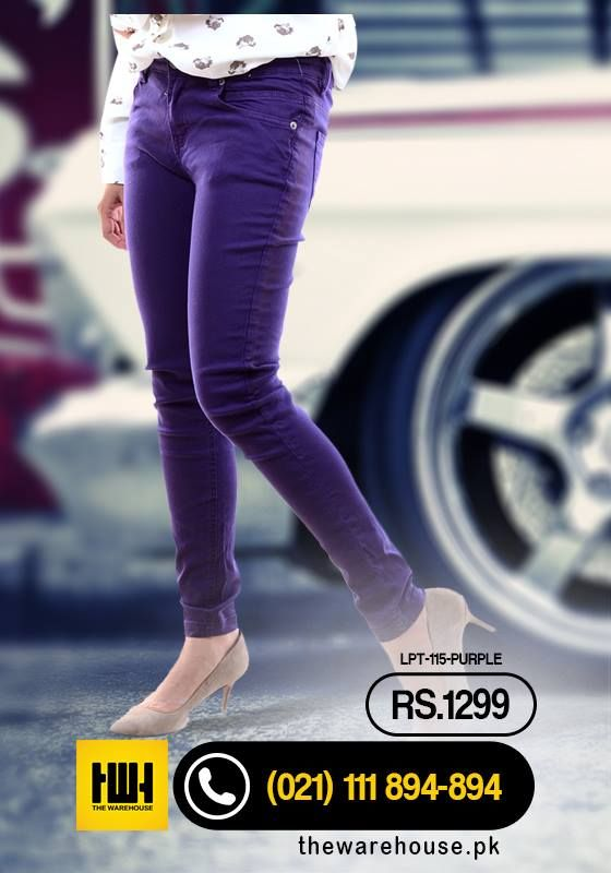 #Purple #Skinny #Jeans Limited Stock Shop here: http://goo.gl/ZOZGsV Call To Order Now : (021) -111-894-894 Mobile : 0325-2588888