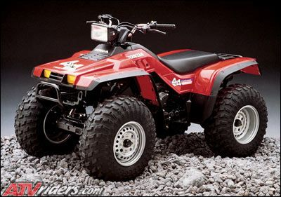 Looking Back 1986 Honda Fourtrax 4x4 Atv Atv Honda Classic Honda Motorcycles